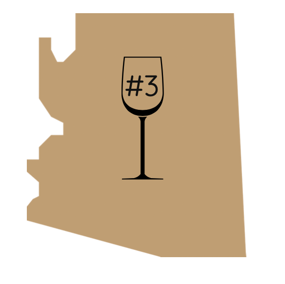 third best winery in arizona award